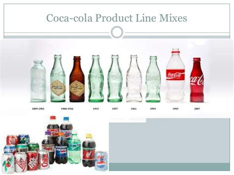 product layout coca cola coca cola product line and product mix