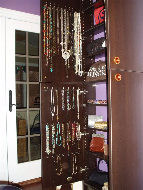 Jewelry Organizer For Closet by Bedrooms Closet Engineers Custom Organization Designs