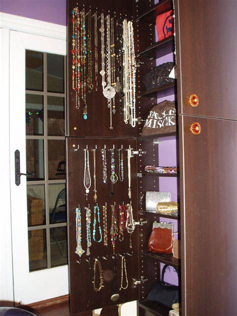 Jewelry Organizer Closet by Bedrooms Closet Engineers Custom Organization Designs
