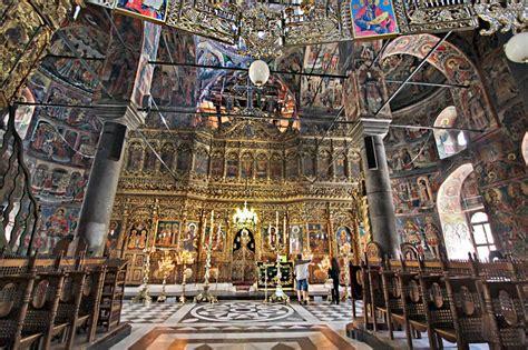 PHOTO: Iconostasis at Rila Monastery