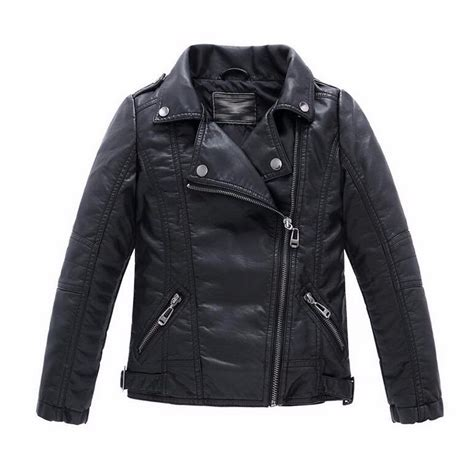 Jaket Boy Black 1 baby boys leather jacket and coats