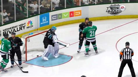 review nhl 15 has great moments surrounded with nhl 14 dallas stars vs san jose sharks thrilling ot and