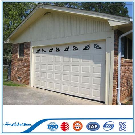Garage Door Panel Prices Black Anodized Aluminum Frame Automatic Frosted Tempered Glass Panels Garage Door Prices Buy
