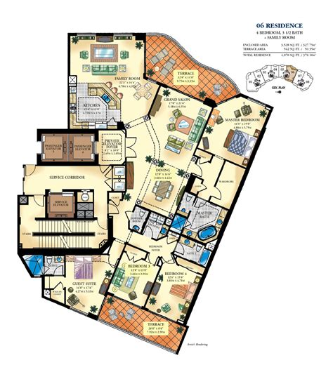 individual floor plans of luxury condo units blu condos bella mare blintser group
