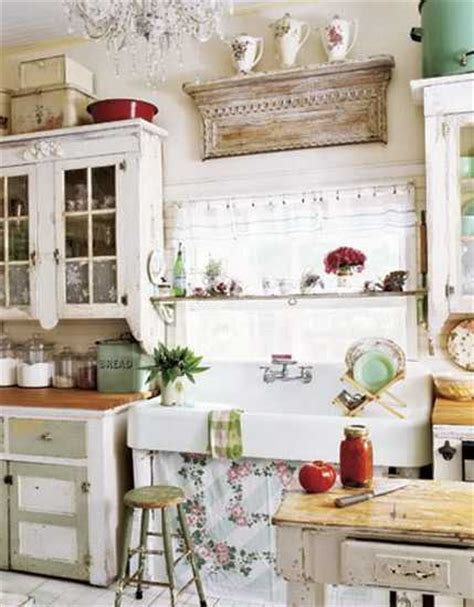 shabby chic kitchen furniture 25 shabby chic decorating ideas and inspirations