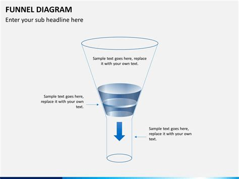 Funnel Diagram Powerpoint Template Sketchbubble Funnel Diagram Ppt