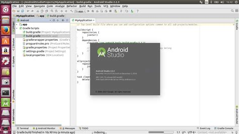 install android studio how to install program on ubuntu how to install android studio 2 2 3 on ubuntu 16 04 16 10