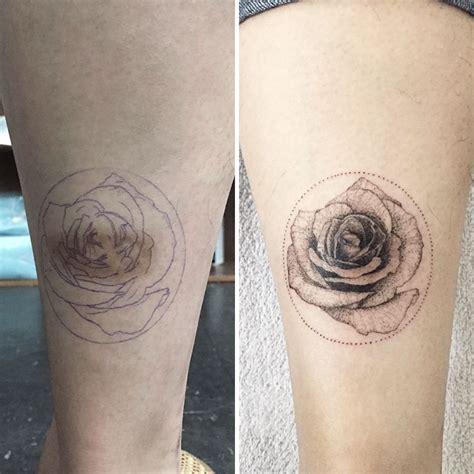panda tattoo minimalist 15 delicately beautiful tattoos by south korean artist