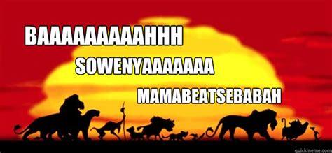 theme song lion king lion king intro memes quickmeme