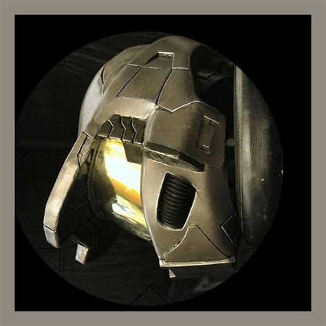 How To Make A Halo Helmet Out Of Paper - how to make a halo helmet using pepakura