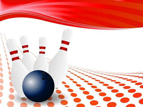 Bowl 4 Free by Bowling Pin Powerpoint Design Backgrounds Sports