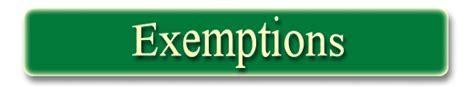 Florida Records Exemptions Exemptions