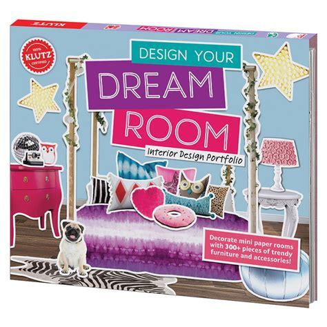 Design Your Dream Room | klutz design your dream room