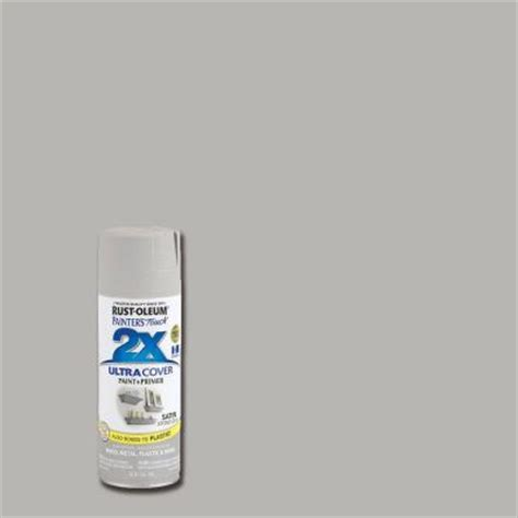 rust oleum painter s touch 2x 12 oz gray satin general purpose spray paint 6 pack