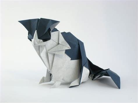 Paper Folding Cat - 25 best ideas about origami cat on origami