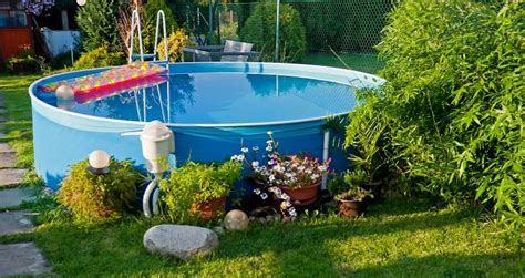 small above ground pools for small backyards 5 above ground pool ideas for small yards
