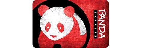 Panda Express Digital Gift Card - 25 panda express egift card 20