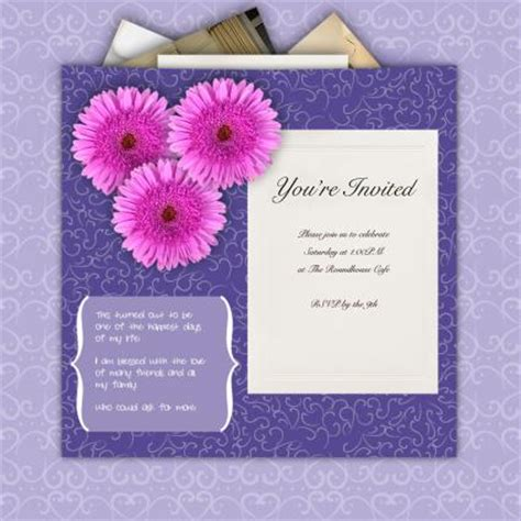 scrapbook ideas for bridal shower invitations