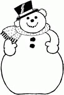 snowman coloring pages printable search results for printable snowman hat template