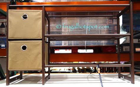 costco shoe storage costco sale organize it all 3 tier metal shoe rack with