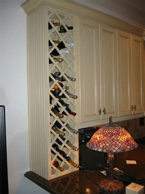 built in wine rack in kitchen cabinets 1000 images about wine racks on pinterest wine racks