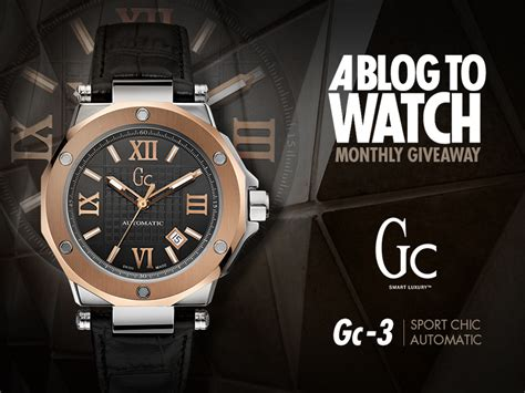 Gc Guci Collection giveaway gc gc 3 automatic ablogtowatch