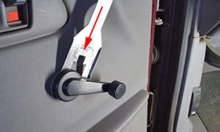 How To Remove Winder Knob by Door Panel Removal Manual Windows Nissan Forum