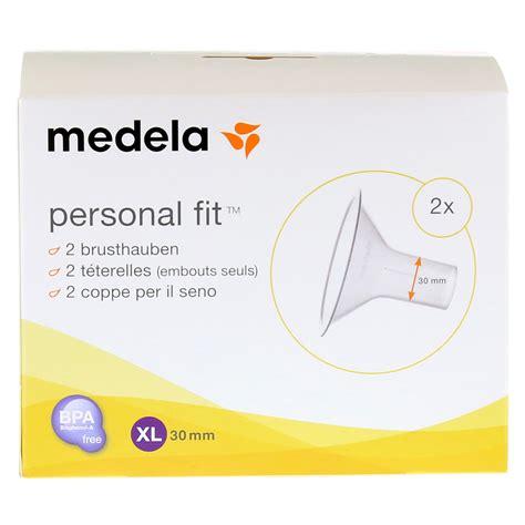 Medela Corong Personal Fit medela personal fit brusthaube gr xl 2 st 1 packung bestellen medpex versandapotheke