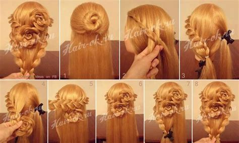 pretty hairstyles how to do how to do pretty flower braid hairstyles step by step diy