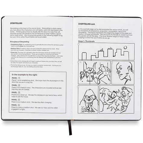 sketchbook guide idraw comics sketchbook reference guide roobix