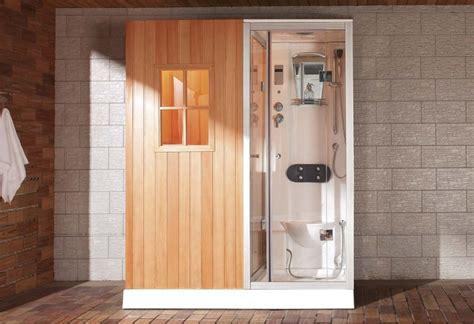 ducha sauna sauna seca sauna h 250 meda con ducha hidromasaje as 002