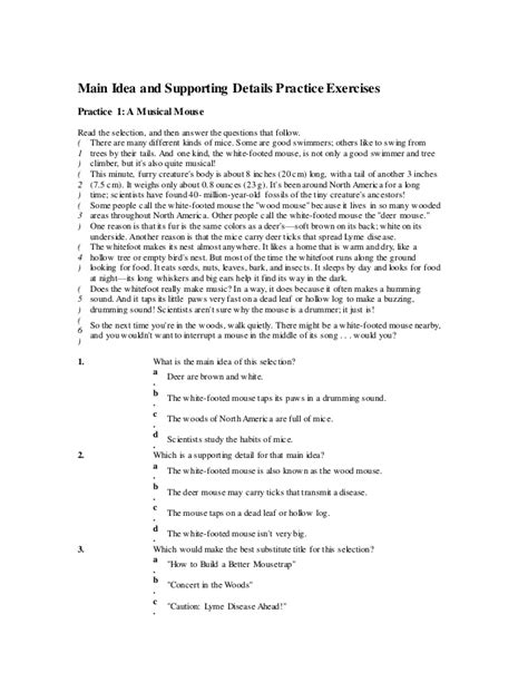 Middle School Idea Worksheets by Middle School Idea Worksheets Worksheets