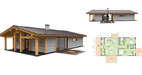 long house check out this prefab house design the long house