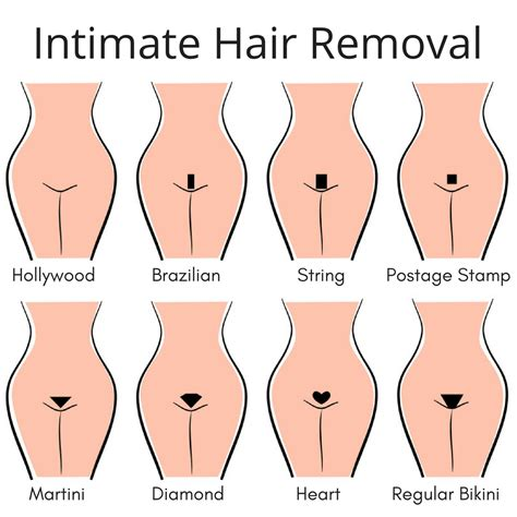 vagina hair shapes intimate hair removal top treatments compared utopia