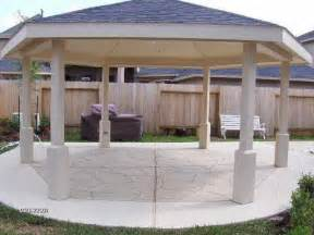 Patio Roofs And Gazebos Roofing How To Apply The Gazebos Patio Roofs Ideas Patio Trellis Covered Pergola Patio Shade