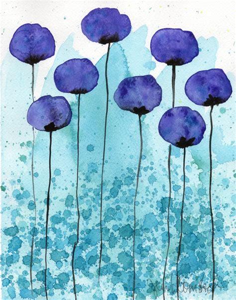 easy watercolor paintings flowers buy 2 get 1 free watercolor painting watercolor by