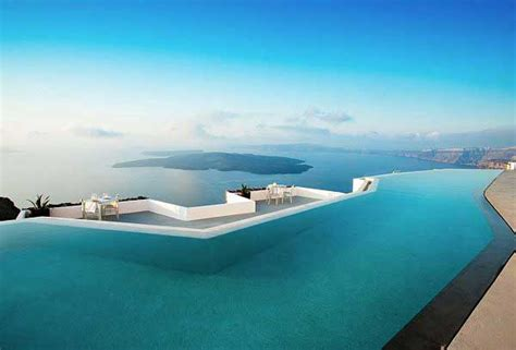 Interior Design Rules grace hotel design with infinity pool side santorini