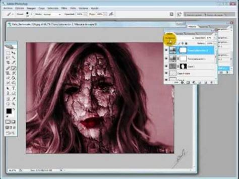 tutorial desain grafis photoshop cs2 tutorial dark lento photoshop cs2 youtube