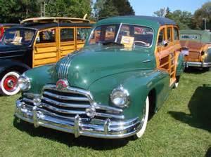 Wood Pontiac Woodie Wagons