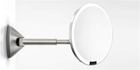 travel makeup mirrors with lights magnified artifi folding led travel mirror 1x and 5x magnifying