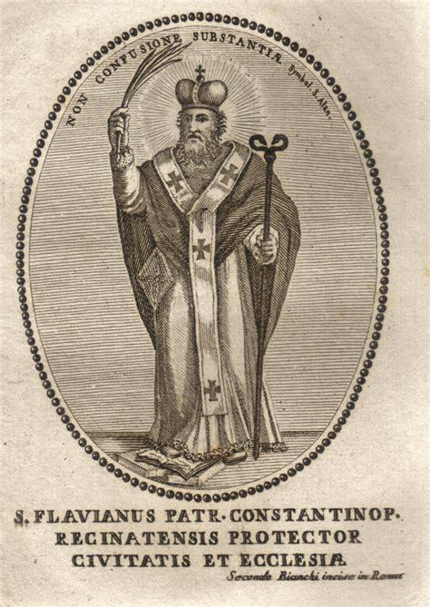 si鑒e de constantinople flavian of constantinople
