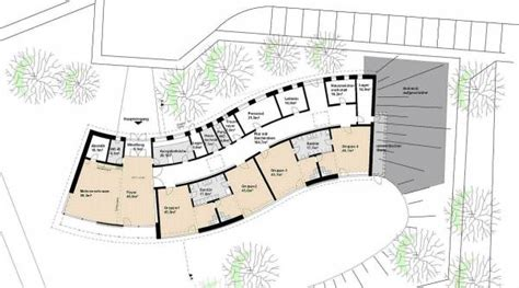Kindergarten Floor Plan Exles | playing on the passive house hill the new kindergarten