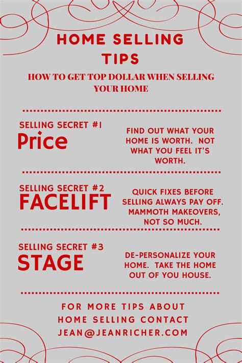 home selling 3 tips