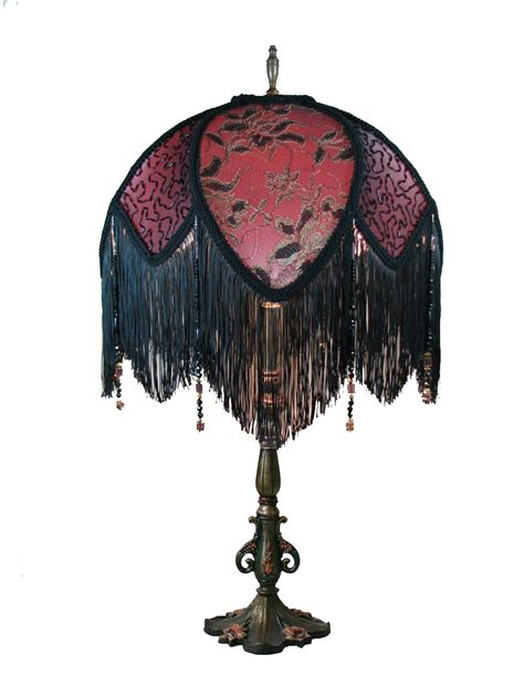 victorian l shade with fringe victorian l shades uk victorian style wall sconce