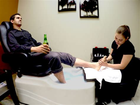 Mens Pedicure by Executive Pedicure For In Mcallen The Barbershop