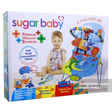 jual murah sugar baby premium healty bouncer 3 recline a