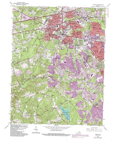 usgs topographic maps fairfax topographic map va usgs topo 38077g3