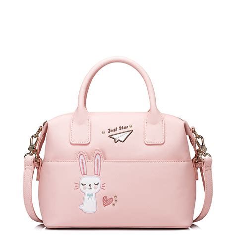 Sweet Rabbit Pink by Just Pu Leather 2017 New Sweet Rabbit Series Boston