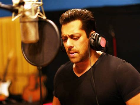 love film video song salman khan the love song of salman khan actor sings for suraj
