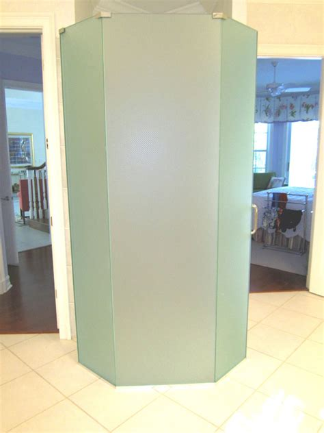 Frosted Shower Doors In Cape Coral Fl Coral Shower Doors